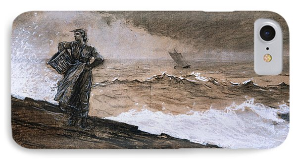 At High Sea IPhone Case by Winslow Homer