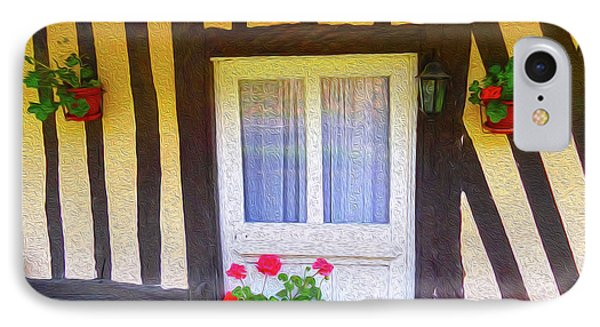 At Home In Normandy IPhone Case by Ann Johndro-Collins