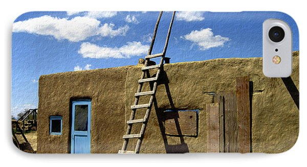 At Home Taos Pueblo Phone Case by Kurt Van Wagner