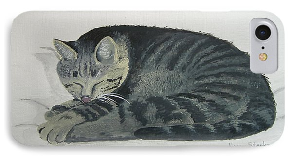 IPhone Case featuring the painting At Rest by Norm Starks