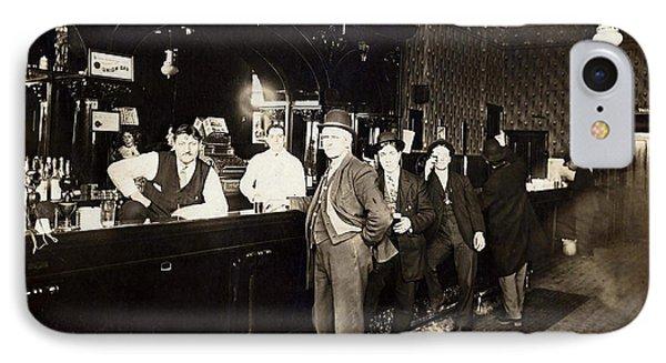 At The Bar IPhone Case by Jon Neidert
