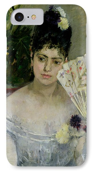 At The Ball IPhone Case by Berthe Morisot
