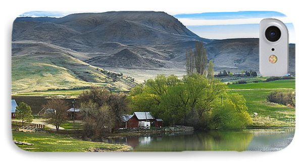 At The Base IPhone Case by Robert Bales