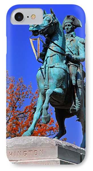 At The Battle Of Princeton IPhone Case by Iryna Goodall