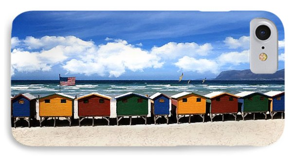IPhone Case featuring the photograph At The Beach by David Dehner