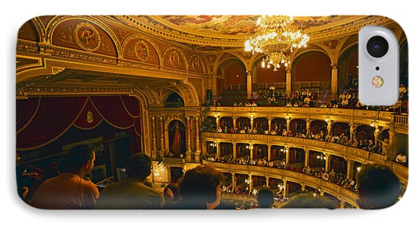 At The Budapest Opera House IPhone Case by Madeline Ellis