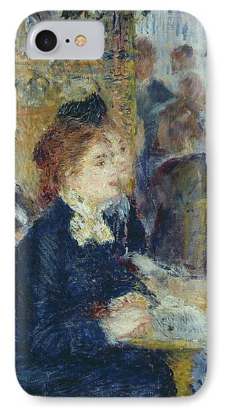 At The Cafe Phone Case by Pierre Auguste Renoir