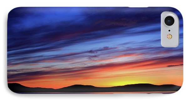 Closing Of The Day IPhone Case by Aidan Moran