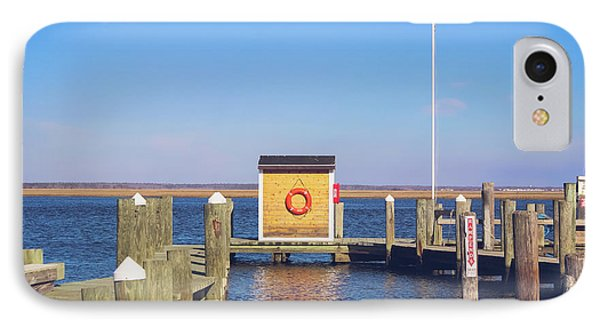 IPhone Case featuring the photograph At The Dock by Colleen Kammerer