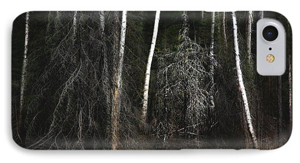 IPhone Case featuring the photograph At The Edge Of The Forest  by Jim Vance