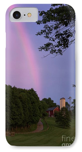 At The End Of The Rainbow IPhone Case by Nicki McManus
