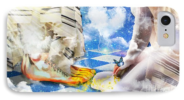At The Feet Of Jesus IPhone Case by Dolores Develde