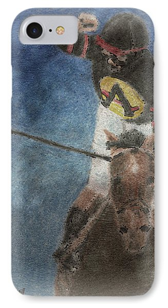 At The Finish Line Phone Case by Arline Wagner