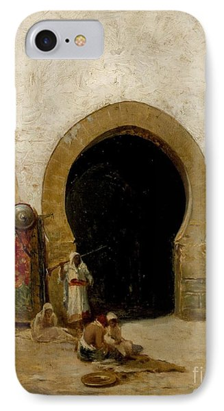 At The Gate Of The Seraglio IPhone Case