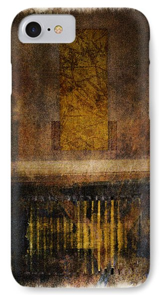 At The Gate Photomontage IPhone Case by Carol Leigh