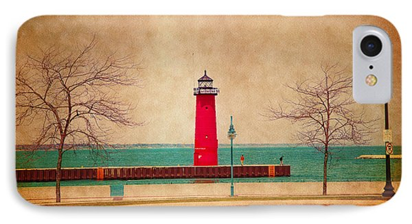At The Harbor IPhone Case by Milena Ilieva