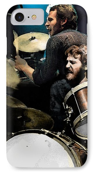 At The Helm  Levon Helm  IPhone Case