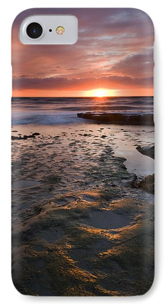 At The Horizon Phone Case by Mike  Dawson