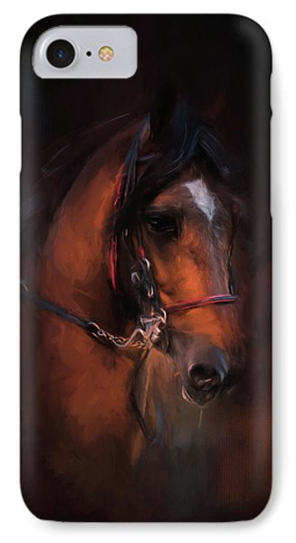At The Horse Show 1 IPhone Case by Jai Johnson