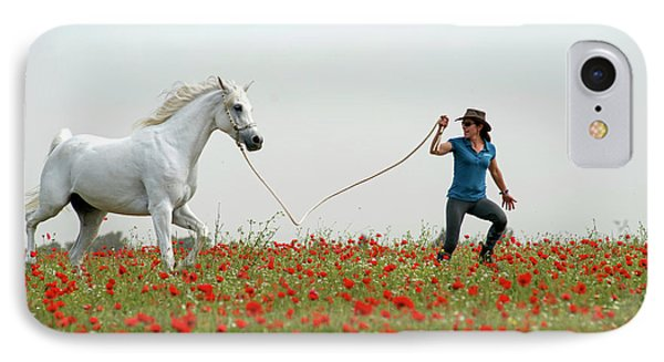 At The Poppies' Field... 2 IPhone 7 Case by Dubi Roman