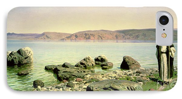 At The Sea Of Galilee Phone Case by Vasilij Dmitrievich Polenov