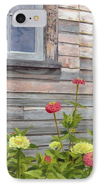 IPhone Case featuring the painting At The Shelburne by Lynne Reichhart