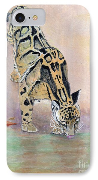 At The Waterhole - Painting IPhone Case