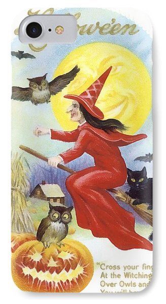 At The Witching Hour IPhone Case by Unknown