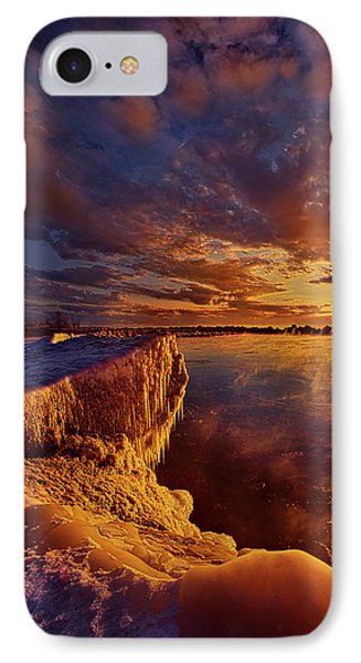 IPhone Case featuring the photograph At World's End by Phil Koch
