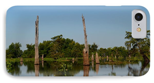 Atchafalaya Basin 18 IPhone Case by Maggy Marsh