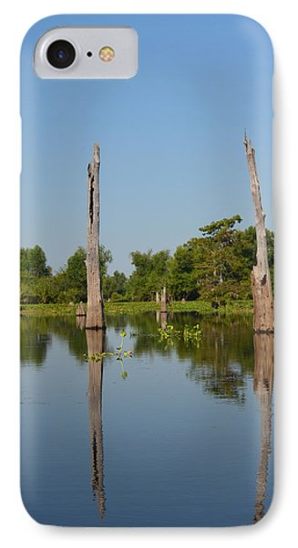 Atchafalaya Basin 19 IPhone Case by Maggy Marsh