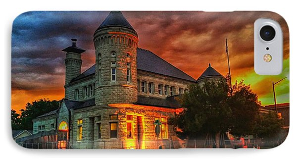 Atchison Post Office  Phone Case by Dustin Soph