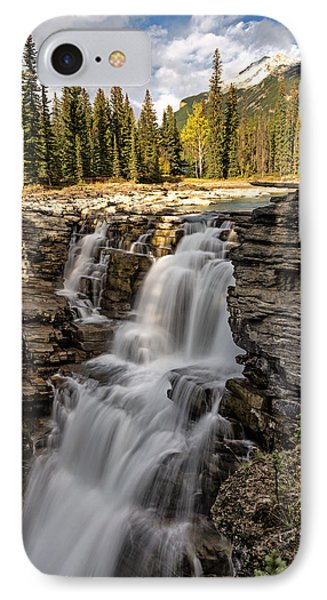 Athabasca Falls IPhone Case by John Gilbert