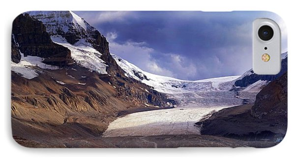 Athabasca Glacier IPhone Case by Heather Vopni