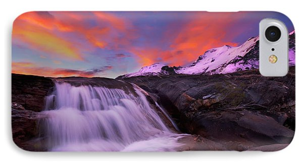 Athabasca On Fire IPhone Case