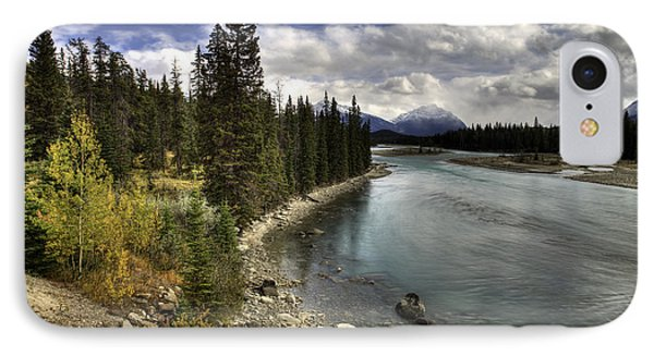 Athabasca River IPhone Case by John Gilbert