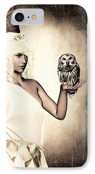 Athena IPhone Case by Lourry Legarde