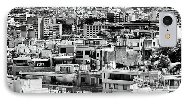 Athens Cityscape I Phone Case by John Rizzuto
