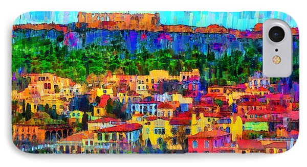 Athens Cityscape - Pa IPhone Case