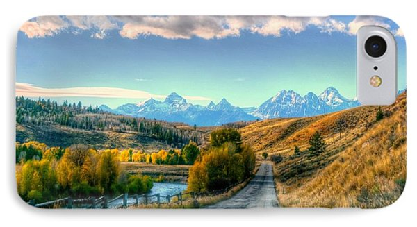 Atherton View Of Tetons IPhone Case