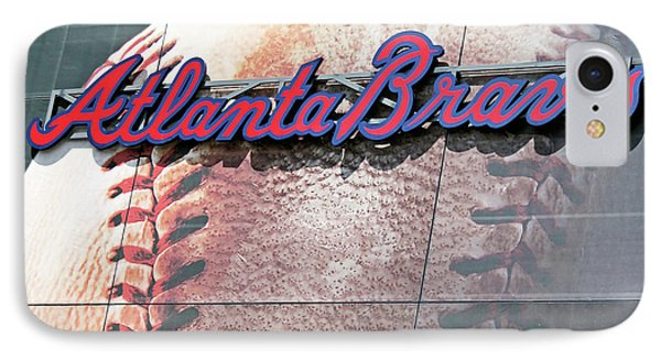 IPhone Case featuring the photograph Atlanta Braves by Kristin Elmquist