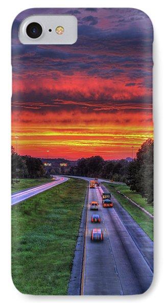 Atlanta Burning Georgia Sunset Art IPhone Case