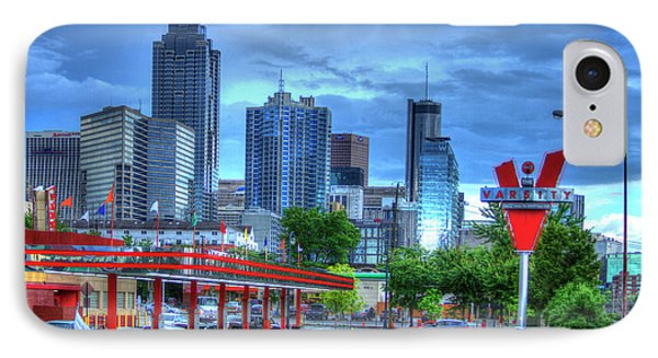 Atlanta Landmark The Varsity Art IPhone Case