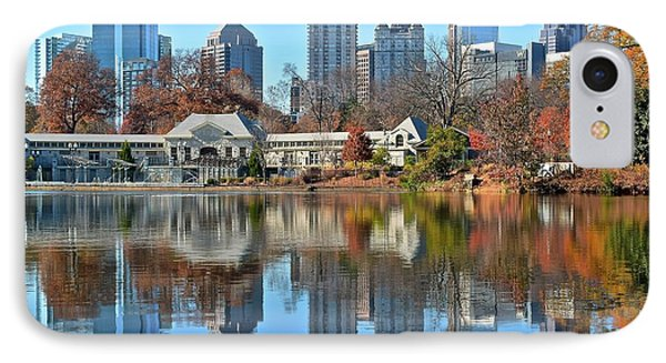 Atlanta Reflected IPhone Case by Frozen in Time Fine Art Photography