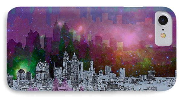 Atlanta Skyline 7 IPhone 7 Case by Alberto RuiZ