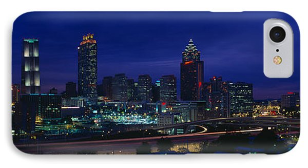 Atlanta Skyline After Olympics, Georgia IPhone Case by Panoramic Images