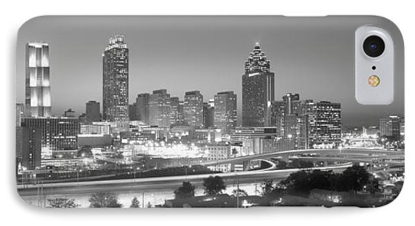 Atlanta Skyline At Dusk After Olympics IPhone Case by Panoramic Images