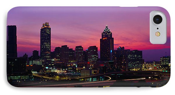 Atlanta Skyline, I-20, Georgia IPhone Case by Panoramic Images