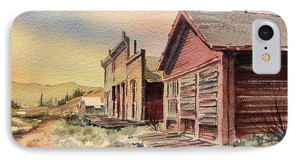 Atlantic City Ghost Town Wyoming Phone Case by Kevin Heaney