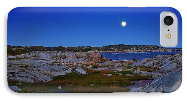 Atlantic Moon  IPhone Case by Heather Vopni